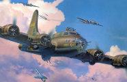 автомобили boeing b-17 flying fortress летающая крепость оказалась
