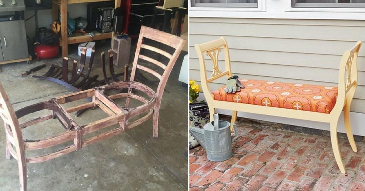 Декорация стульев