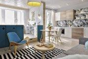 Идеи вашего дома: Подсмотрено у европейцев: как на Западе грамотно оформляют малогабаритные квартиры