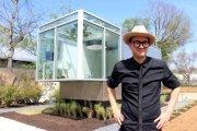 Архитектура: Микро-дом от американского профессора, который целый год прожил в ...мусорном контейнере
