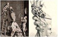 Fashion: Какие муки терпели аристократки в XVIII веке, чтобы не испортить 1,5-метровую прическу