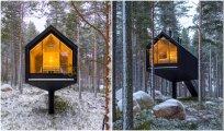 Архитектура: На финском высокогорье создается эко-курорт с номерами на курьих ножках
